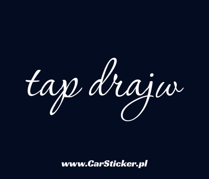 tap-drajw