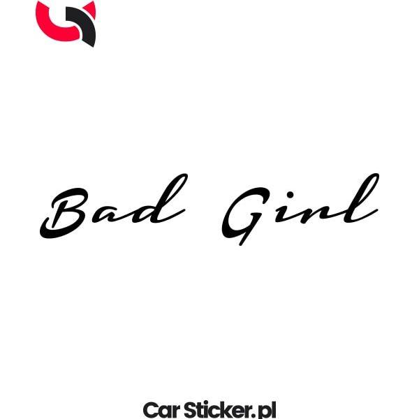 naklejka-bad-girl