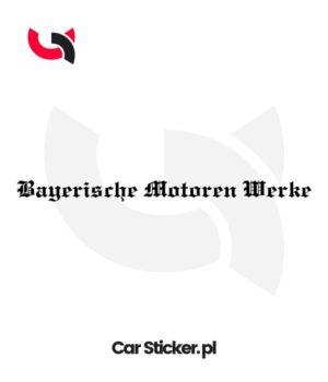 Bayerische-Motoren-Werke