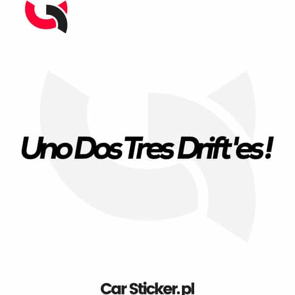 naklejka-uno-dos-tres-driftes