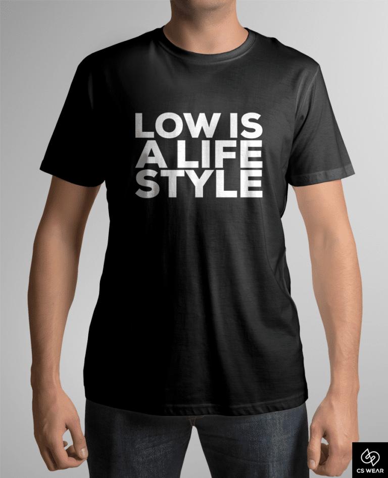koszulka-low-is-a- life-style