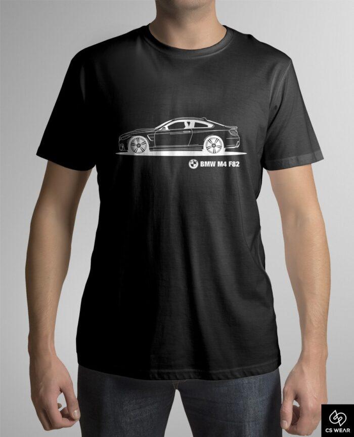 bmw-m4-f82-koszulka-czarna