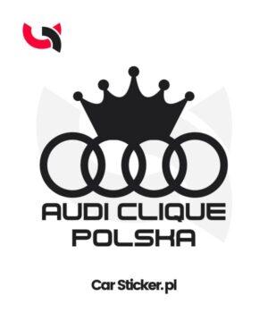 naklejka-audi-clique-polska
