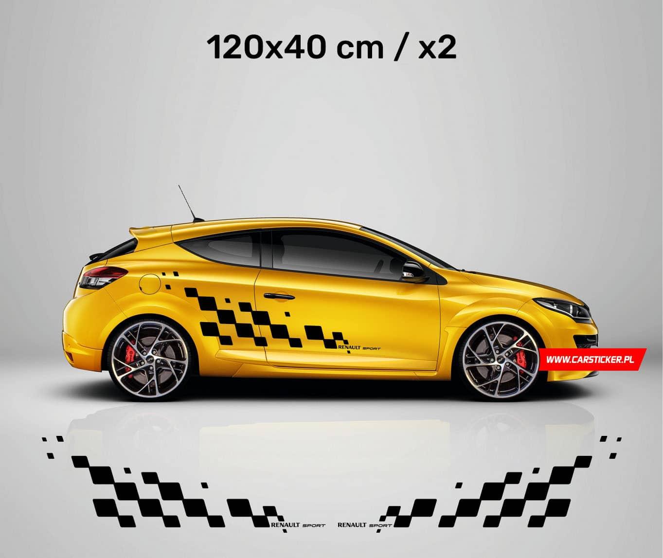 Pasy Na Bok Auta Renault Sport 170x12